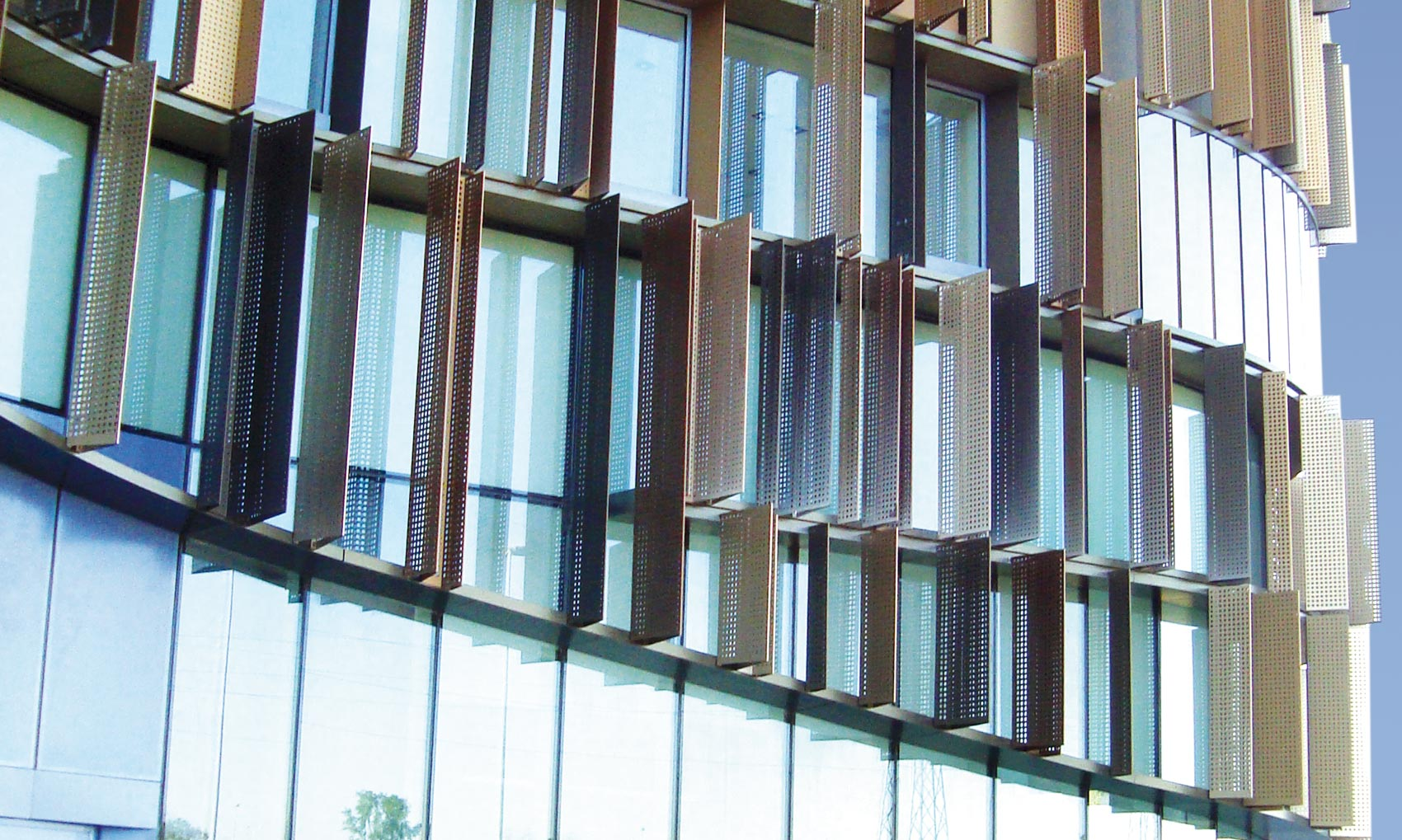 Gualini •Curtain walls with thermalbreak modules